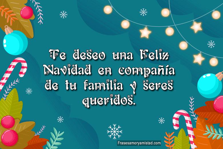Te deseo una feliz Navidad Imágenes para Felicitar en Navidad